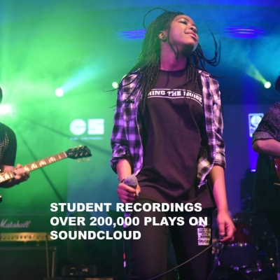 Student Recordings – Over 200,000 Soundcloud Plays.
